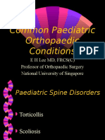 Paediatric Orthopaedics (Leh)