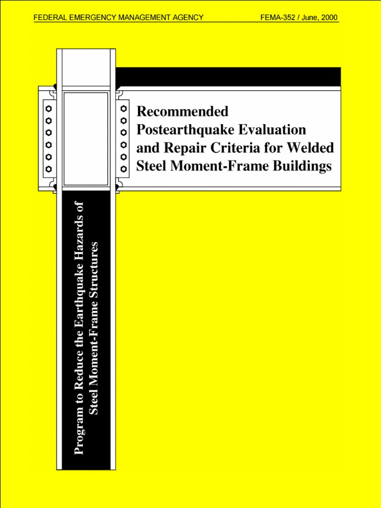 Recommend postearthquake evaluasion and repair criteria for welded recommend postearthquake evaluasion and repair criteria for welded steel moment frame building column evaluation fandeluxe Image collections