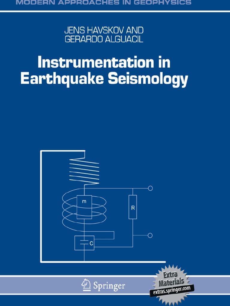 Instrumentation In Earthquake Seismologypdf Analog To Digital Lvdt Wiring Polarity Designation Diagram Converter Seismology
