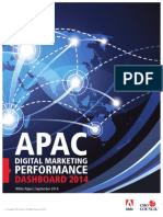 APAC Digital Marketing Performance Dashboard