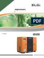 11 160 KW EG Series Screw Compressor