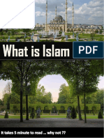 What Is Islam ....