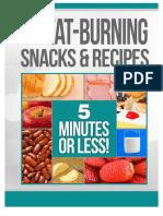 31 Fat Burning snacks & recipes