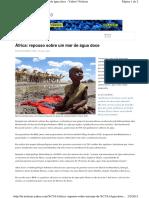 Africa Repouso Sobre Um Mar de Agua Doce