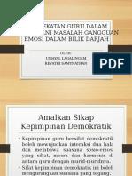62268601 Pendekatan Guru Dalam Menangani Masalah Gangguan Emosi Dalam