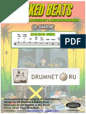 Gil Sharone-wicked Beats 100063 Drumnet Ru | Drum Kit | Reggae