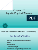 Aquatic Physical Therapy