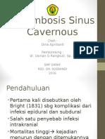 Ppt Referat Trombosis Sinus Cavernosus