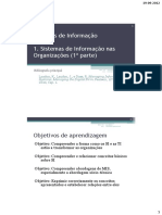 SI Nas Organizaçoes - 1