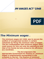 28841 Minimum Wages Act 1948