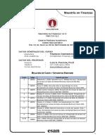FinCorp MaF14-2 Lima Casos