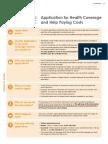 Printable Application Forms for Health Care Programs - English