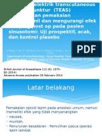Stimulasi elektrik transcutaneous menurunkan pemakaian ramifentanil dan.pptx