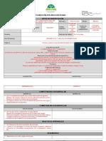 Formato de Planeación de Clases de TBC HUGO