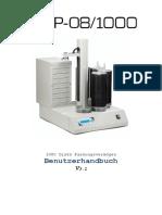 Dup 08 1000 Manual De