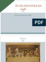 EL JARDÍN DE INFANTES EN 1948