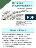 Teori in Ethics Study