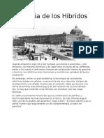 Historia de Los Automoviles Hibridos.