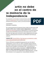 Cecilia Mendez Independencia