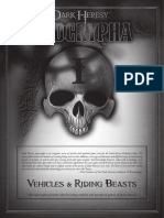 Dark Heresy Vehicles