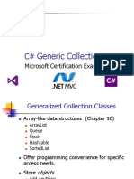 C#.04 Generic Collections