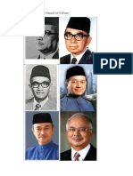 Malaysian Prime Ministers
