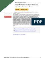 Heterogender Homosexuality Honduras Stephen Murray 0595226817 Book