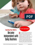 teaching routines
