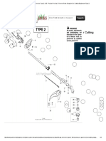 Poulan PP125 Gas Trimmer Type 2, 125 - Poulan Pro Gas Trimmer Parts Diagram for Cutting Equipment Type 2