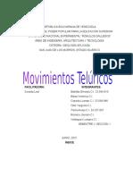 Movimiento Telúrico Geologia Aplicada