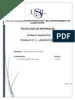 Trabajo 3 de Tecnologia de Materiales