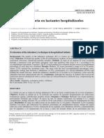 Técnica inhalatoria en lactantes hospitalizados