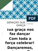 Geração Que Dança
