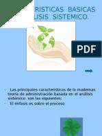 Caracteristicas Basicas Del Analisis Sistematico
