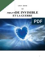 Denis Léon 12 Le Monde Invisible et la Guerre 1919 mjys.doc