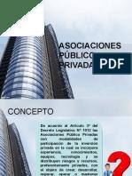 Asociaciones Púlico-Privada