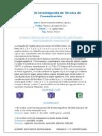NORMAS O REGLAS DE USO DE LETRAS DEL ABECEDARIO, PRINCIPALMENTE CONSONANTES