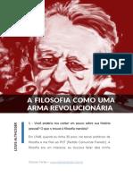 A Filosofia Como Arma Revolucionaria Louis Althusser