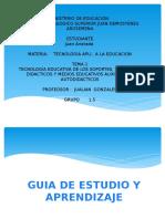 Tecnologia Educativa Instruccional