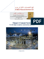 cement sector in gulf