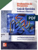 Evaluacion de Proyectos - Guia de Ejercicios - Sapag-Puelma - McGraw Hill