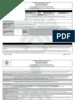 Proyecto Formativo - Sga
