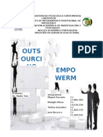 Outsourcing y Empoderamiento