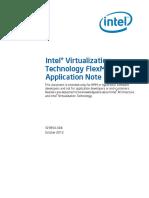 Virtualization Technology Flexmigration Application Note