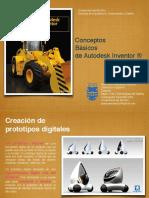 Características Software Paramétrico Autodesk Inventor