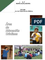Área de Educación Cristiana - María Auxiliadora
