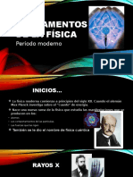 Periodo Moderno y Fisica Cuantica