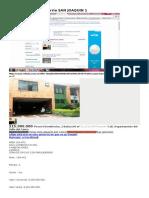 Vendo Casa en El Barrio San Joaquin 1