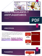 Anticoagulantes y Antiplaquetarios