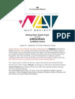gregorian press release
